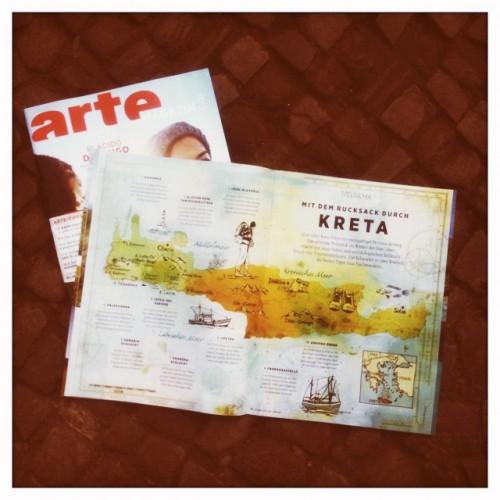 arte-map of kreta
