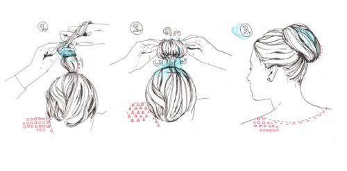 hair style - ELLE magazine