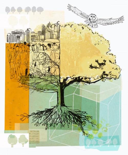 marsh university - environment -tree
