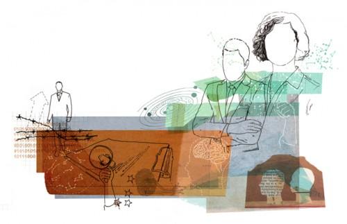 Elementarfragen - Illustration für Viertausendhertz